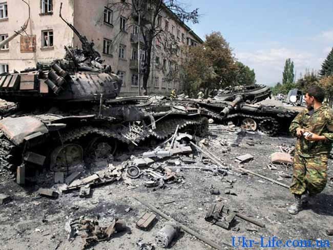 разбитые танки