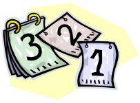 листочки отрывного календаря