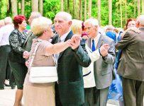 пенсионеры на танцах