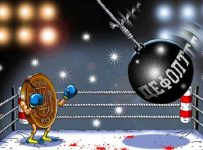 карикатура про дефолт