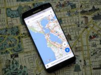 История сервиса Google Maps