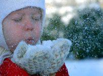 Снег и воздух