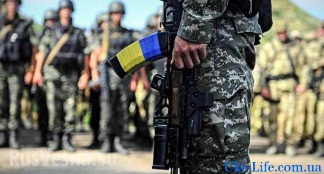Вопрос с отправкой солдат в зону боевых действий