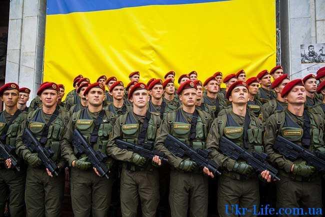Повышение зарплаты Нацгвардии в Украине